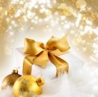 Jul, glitter, paket, julgranskulor, fest